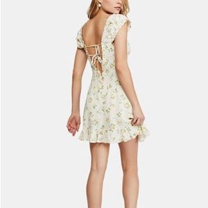 Free People Dresses - NWT Free People Like A Lady Floral Mini Dress